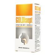 GOLDisept, spray do ust i gardła, 25 ml