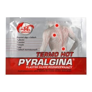 Pyralgina Termo Hot, plaster silnie rozgrzewający, 1 szt.