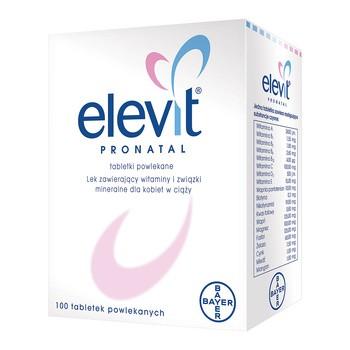 Elevit Pronatal, tabletki powlekane, 100 szt.