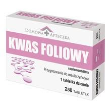 Domowa Apteczka Kwas foliowy, tabletki, 250 szt.