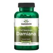 Swanson Damiana, kapsułki, 100 szt.