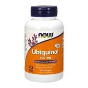Ubiquinol 100 mg, kapsułki, 120 szt. (Now Foods)