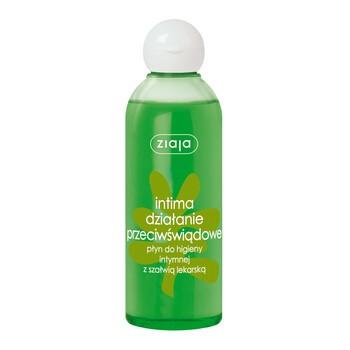 Ziaja Intima działanie przeciwświądowe, płyn do higieny intymnej z szałwią lekarską, 200 ml