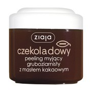 Ziaja Masło Kakaowe, czekoladowy peeling myjący, gruboziarnisty, 200 ml