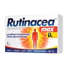 Rutinacea max D3, tabletki, 60 szt.