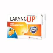 Laryng Up Orange, tabletki do ssania bez cukru, 24 szt.