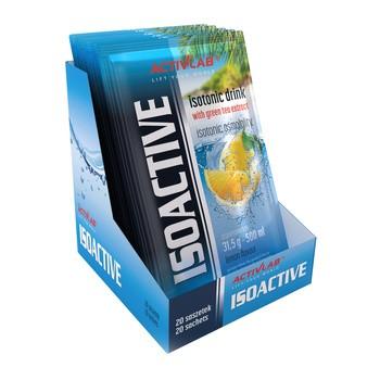 Isoactiv, smak cytrynowy, proszek w saszetkach, 20 szt.