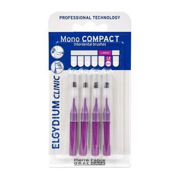 Elgydium Clinic Mono Compact 5, szczoteczka międzyzębowa, 4 szt.