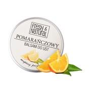 Fresh&Natural, pomarańczowy balsam do ust, 15 ml