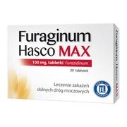 Furaginum Hasco MAX, 100 mg, tabletki, 30 szt.