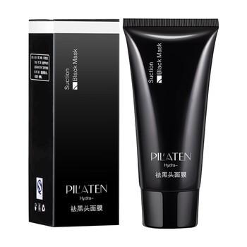 Pilaten Black Mask, czarna maseczka do twarzy typu peel-off usuwająca zaskórniki i oczyszczająca pory, 60 g