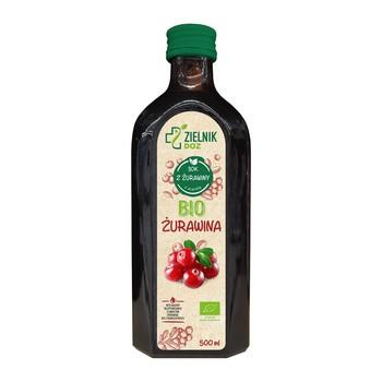 ZIELNIK DOZ BIO Żurawina, sok, 500 ml