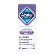 Acatar Care Kids, 0,25 mg/ml, aerozol do nosa, 15 ml