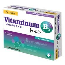 Vitaminum B 2 hec, tabletki, 30 szt.