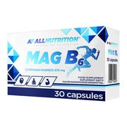 Allnutrition MAG B6, kapsułki, 30 szt.
