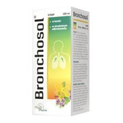 Bronchosol, (218 mg+0,989 mg)/5 ml, syrop, 100 ml