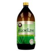 AloeLive, sok z aloesu z miąższem, 1000 ml