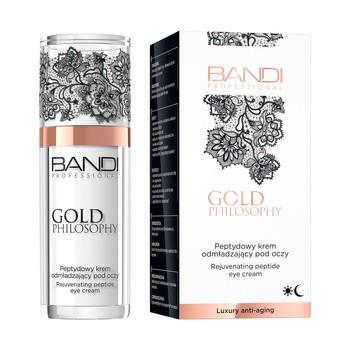 Bandi Exclusive Gold Philosophy, peptydowy krem odmładzający pod oczy, 30 ml