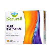 Naturell Silica Biotyna Max, tabletki, 60 szt.