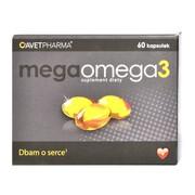 Mega Omega 3, kapsułki, 60 szt.