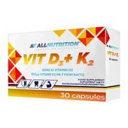Allnutrition D3 + K2, kapsułki, 30 szt.