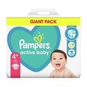 Pampers Active Baby 4+ (10−15 kg), pieluszki jednorazowe, 70 szt.