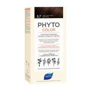 Phyto Color, farba do włosów, 5.7 jasny kasztanowy brąz, 1 opakowanie