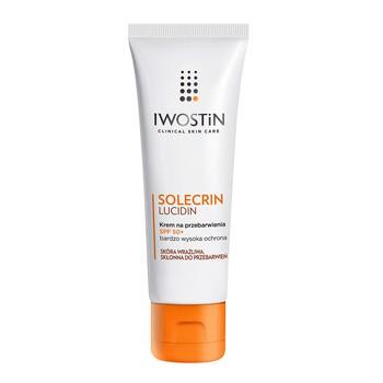 Iwostin Solecrin Lucidin, krem na przebarwienia, SPF 50+, 50 ml