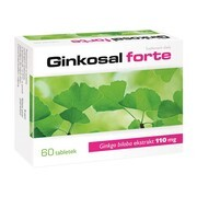 Ginkosal Forte, tabletki powlekane, 60 szt.