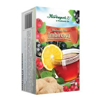 Herbatka Imbirowa, fix, 3 g, saszetki, 20 szt.