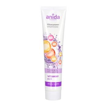 Anida, krem do rąk, glicerynowo-witaminowy, 125 ml