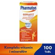 Pharmaton Geriavit, tabletki powlekane, 100 szt.