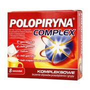 Polopiryna Complex, proszek w saszetkach do sporządzania roztworu doustnego, 8 szt.