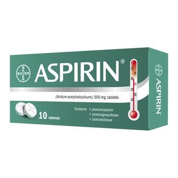 Aspirin, 500 mg, tabletki, 10 szt.