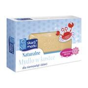 Skarb Matki, naturalne mydło w kostce dla niemowląt i dzieci, 100 g