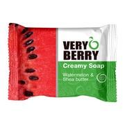 Very Berry, kremowe mydło w kostce, Watermelon & Shea Butter, 100 g