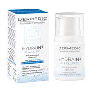 Dermedic Hydrain 3, naprawczy krem przeciwzmarszczkowy na noc, 55 g