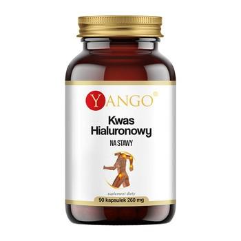 Kwas Hialuronowy na stawy, kapsułki, 90 szt. (Yango)