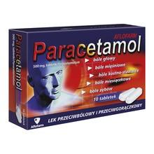 Paracetamol Aflofarm, 500 mg, tabletki, 20 szt.
