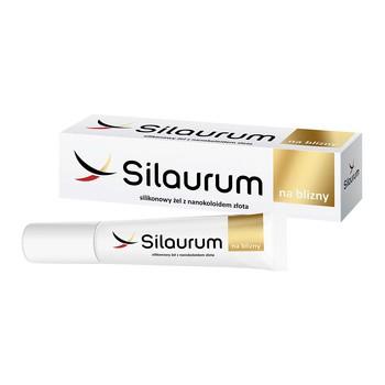 Silaurum, silikonowy żel na blizny z nanokoloidami złota, 15 ml