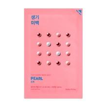 Holika Holika Pure Essence Mask Sheet - Pearl, maseczka na bawełnianej płachcie z ekstraktem z pereł, 20ml