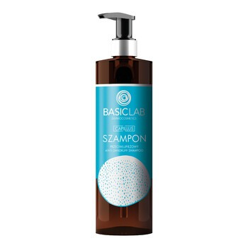 BasicLab Capillus, szampon przeciwłupieżowy, 300 ml