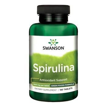 Swanson Spirulina, tabletki, 180 szt.