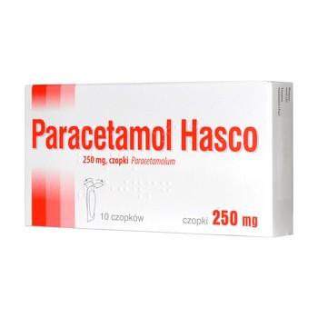 Paracetamol Hasco, 250 mg, czopki, 10 szt.