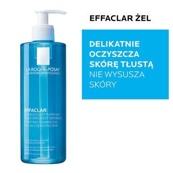 La Roche-Posay Effaclar, oczyszczający żel do skóry tłustej, 400 ml