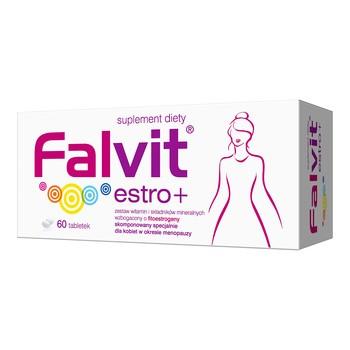 Falvit estro +, tabletki powlekane, 60 szt.