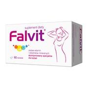 Falvit, tabletki drażowane, 60 szt.