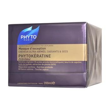 Phyto Phytokeratine, keratynowa maska odbudowująca do włosów, 200ml