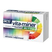 Acti Vita-miner+Rutyna, tabletki, 60 szt.