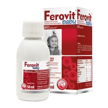 Ferovit bio special Baby, zawiesina doustna, 50 ml